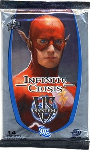 DC VS System Trading Card Game Infinite Crisis Booster Pack [14 Cards]