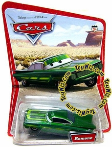Disney / Pixar CARS Movie 1:55 Die Cast Car Series 1 Original Green Ramone