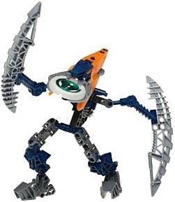 LEGO Bionicle VAHKI LIMITED EDITION Figure #8615 Bordakh [Light Blue Cap]