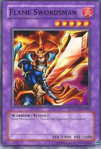 YuGiOh Dark Legends Single Card Common DLG1-EN003 Flame Swordsman