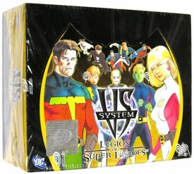 DC VS System Trading Card Game Legion of Super Heroes Booster BOX [24 Packs]