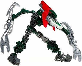 LEGO Bionicle VAHKI LIMITED EDITION Figure #8616 Vorzakh [Red]