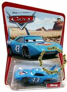 Disney / Pixar CARS Movie 1:55 Die Cast Car Series 1 Original King