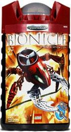 LEGO Bionicle VISORAK Figure #8742 Vohtarak [Red]