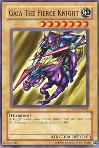 YuGiOh Dark Legends Single Card Common DLG1-EN005 Gaia The Fierce Knight