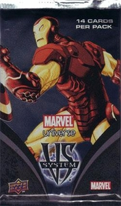 Marvel VS System Trading Card Game Marvel Universe Booster Pack