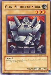YuGiOh Dark Legends Single Card Common DLG1-EN011 Giant Soldier of Stone