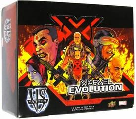 Marvel VS System Trading Card Game Marvel Evolution Booster BOX [24 Packs]