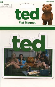 Ted Movie Magnet Ted with Women