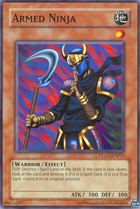 YuGiOh Dark Legends Single Card Common DLG1-EN014 Armed Ninja