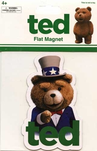 Ted Movie Magnet Uncle Sam Ted
