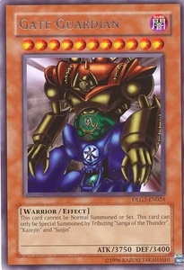YuGiOh Dark Legends Single Card Rare DLG1-EN024 Gate Guardian