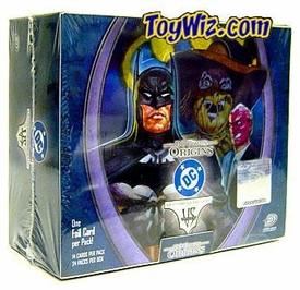DC VS System Trading Card Game Origins Booster BOX [24 Packs]