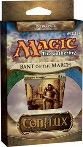 Magic the Gathering Conflux Theme Deck Intro Pack Bant on the March