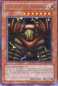 YuGiOh Dark Legends Single Card Rare DLG1-EN031 Sanga of the Thunder