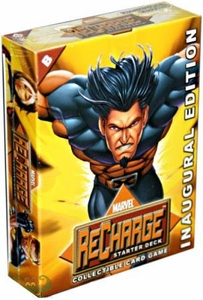 Marvel Collectible Card Game Recharge Starter Deck B [Wolverine Cover] BLOWOUT SALE!