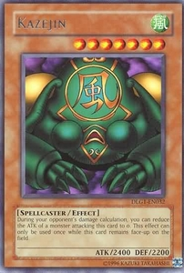 YuGiOh Dark Legends Single Card Rare DLG1-EN032 Kazejin