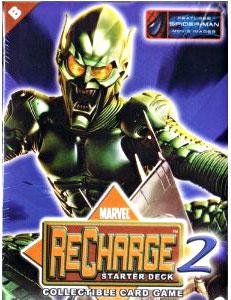 Marvel Collectible Card Game Recharge 2 Starter Deck B [Green Goblin Cover]