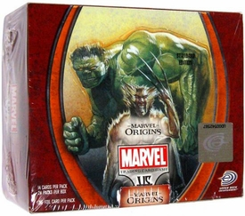 Marvel VS System Trading Card Game Origins Booster BOX [24 Packs]
