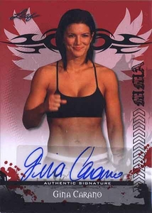 MMA Leaf 2010 Series Autographed Insert Card AV-GC1 Gina Carano