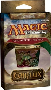 Magic the Gathering Conflux Theme Deck Intro Pack Jund Appetite for War
