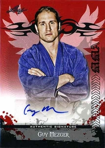 MMA Leaf 2010 Series Autographed Insert Card AV-GM2 Guy Mezger
