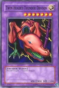 YuGiOh Dark Legends Single Card Common DLG1-EN043 Twin-Headed Thunder Dragon