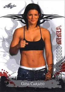 MMA Leaf 2010 Series Base Card #10 Gina Carano