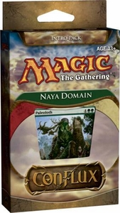 Magic the Gathering Conflux Theme Deck Intro Pack Naya Domain