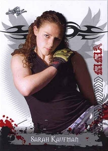 MMA Leaf 2010 Series Base Card #72 Sarah Kaufman
