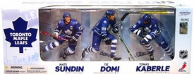 McFarlane Toys NHL Sports Picks Exclusive Action Figure 3-Pack Mats Sundin, Tie Domi & Tomas Kaberle (Toronto Maple Leafs)