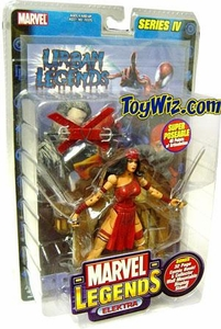 Marvel Legends Series 4 Action Figure Elektra