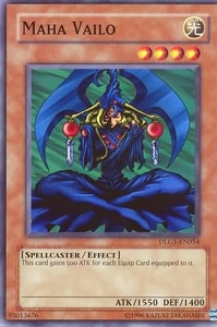 YuGiOh Dark Legends Single Card Common DLG1-EN054 Maha Vailo