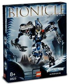 LEGO Bionicle Set #8623 Krekka