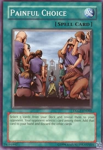 YuGiOh Dark Legends Single Card Common DLG1-EN060 Painful Choice