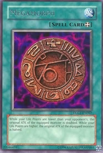 YuGiOh Dark Legends Single Card Rare DLG1-EN062 Megamorph