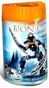 LEGO Bionicle VAHKI Figure #8615 Bordakh [Orange]