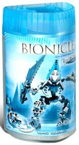 LEGO Bionicle VAHKI Figure #8619 Keerakh [Light Blue]