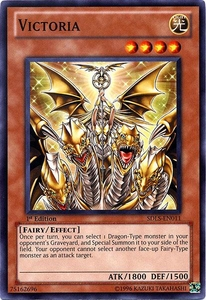 YuGiOh 5D's Structure Deck Lost Sanctuary Single Card Common SDLS-EN011 Victoria