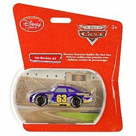 Disney Pixar Cars Exclusive 1:48 Die Cast Car Lee Revkins #63 [Transberry Juice]