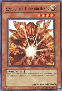 YuGiOh Dark Legends Single Card Common DLG1-EN069 Senju of the Thousand Hands