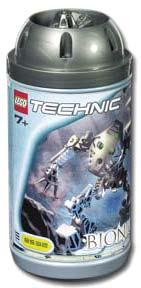 LEGO Bionicle ORIGINAL TOA Figure #8532 Onua [Dark Gray]