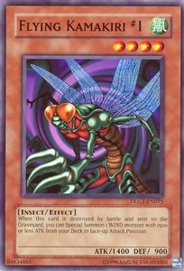YuGiOh Dark Legends Single Card Common DLG1-EN075 Flying Kamakiri #1