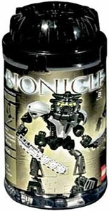 LEGO Bionicle Toa SUPER NUVA Figure #8566 Onua [Black]