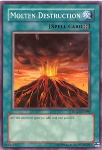 YuGiOh Dark Legends Single Card Common DLG1-EN080 Molten Destruction