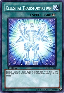 YuGiOh 5D's Structure Deck Lost Sanctuary Single Card Common SDLS-EN028 Celestial Transformation