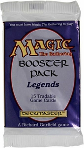 Magic the Gathering Legends Booster Pack [15 cards]