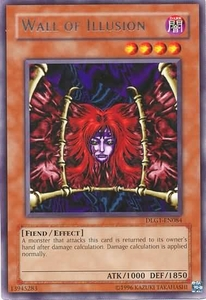YuGiOh Dark Legends Single Card Rare DLG1-EN084 Wall of Illusion