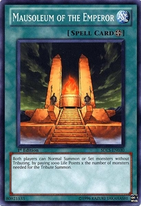 YuGiOh 5D's Structure Deck Lost Sanctuary Single Card Common SDLS-EN030 Mausoleum of the Emperor