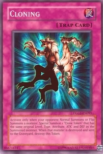 YuGiOh Dark Legends Single Card Super Rare DLG1-EN095 Cloning